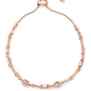 Rose Gold Kendra Scott bracelet